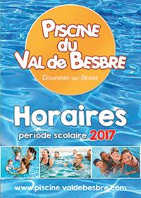 Piscine du Val de Besbre Horaires et tarifs période scolaire